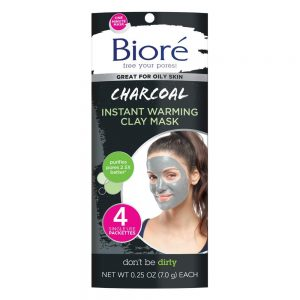 Bioré Charcoal Instantly Warming Clay Facial Mask