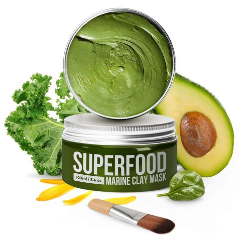 Plantifique Vegan Avocado Dead Sea Face Mask